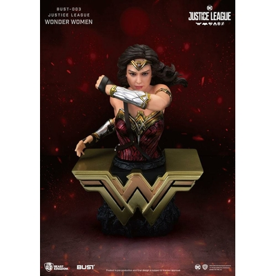 Buste Justice League Wonder Woman 15cm