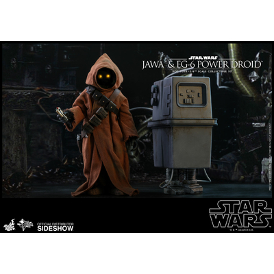 Pack 2 figurines Star Wars Episode IV Movie Masterpiece Jawa & EG-6 Power Droid 18-21cm