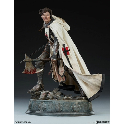 Statuette Court of the Dead Premium Format Shard Faith Bearer's Fury 46cm
