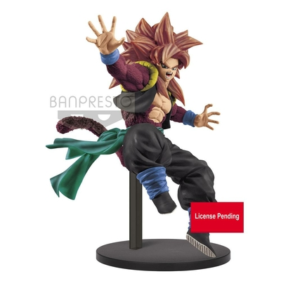 Statuette Super Dragon Ball Heroes Super Saiyan 4 Gogeta Xeno 9th Anniversary 18cm
