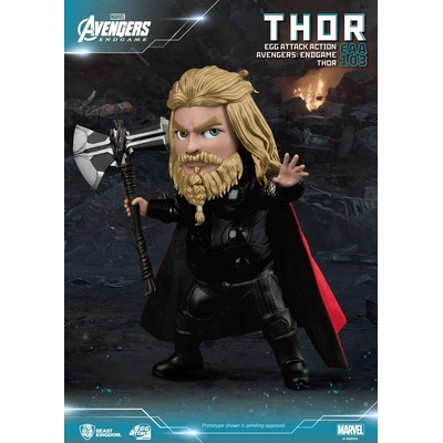 Figurine Avengers Endgame Egg Attack Thor 17cm