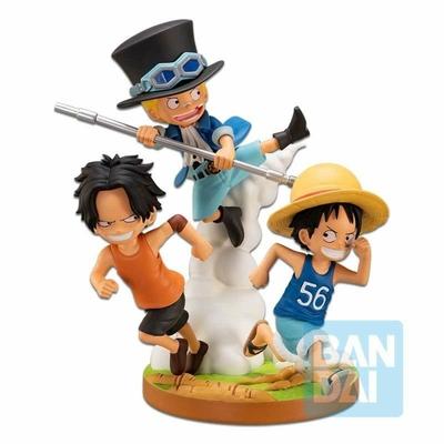 Diorama One Piece Ichibansho The Bonds of Brothers 12cm