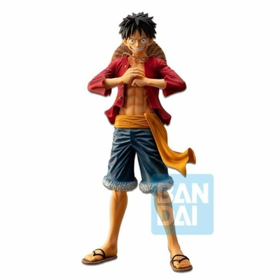 Statuette One Piece Ichibansho The Bonds of Brothers Luffy 28cm