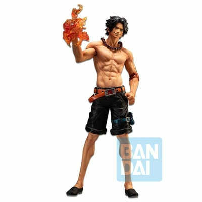 Statuette One Piece Ichibansho The Bonds of Brothers Portgas D. Ace 30cm