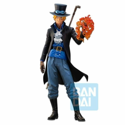 Statuette One Piece Ichibansho The Bonds of Brothers Sabo 30cm