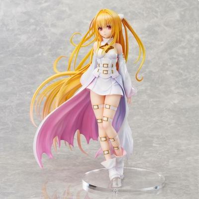 Statuette To Love-Ru Darkness Golden Darkness White Transformer Ver. 20cm