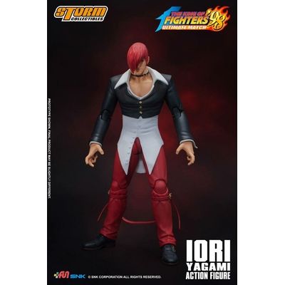 Figurine King of Fighters '98 Ultimate Match Iori Yagami 17cm