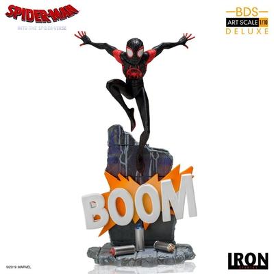 Statuette Spider-Man New Generation BDS Art Scale Deluxe Miles Morales 22cm