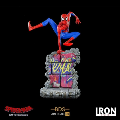 Statuette Spider-Man New Generation BDS Art Scale Deluxe Peter B. Parker 21cm