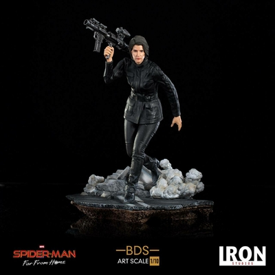 Statuette Spider-Man Far From Home BDS Art Scale Deluxe Maria Hill 20cm