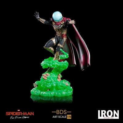 Statuette Spider-Man Far From Home BDS Art Scale Deluxe Mysterio 24cm
