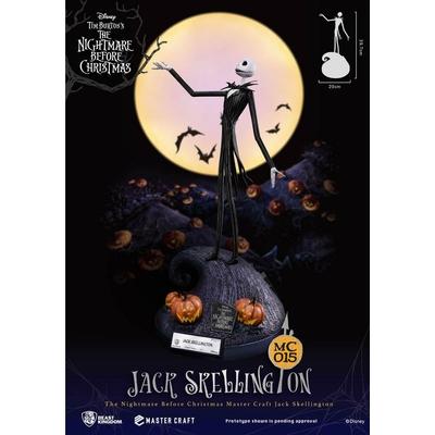 Statuette L'Étrange Noël de monsieur Jack Master Craft Jack Skellington 40cm