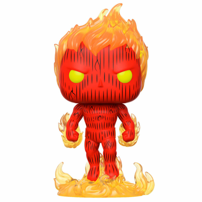 Figurine Fantastic Four Funko POP! Marvel Human Torch 9cm