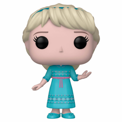 Figurine La Reine des neiges 2 Funko POP! Disney Young Elsa 9cm