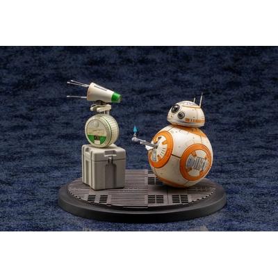 Pack 2 Statuette Star Wars Episode IX ARTFX+ D-O & BB-8 13cm