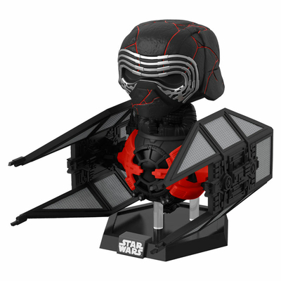 Figurine Star Wars Episode IX Funko POP! Deluxe Supreme Leader Kylo Ren 9cm
