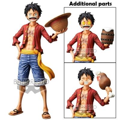 Statuette One Piece Grandista Nero Monkey D. Luffy 28cm