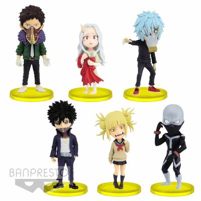 Set de 6 figurines My Hero Academia WCF Vol. 6 ChiBi 7cm