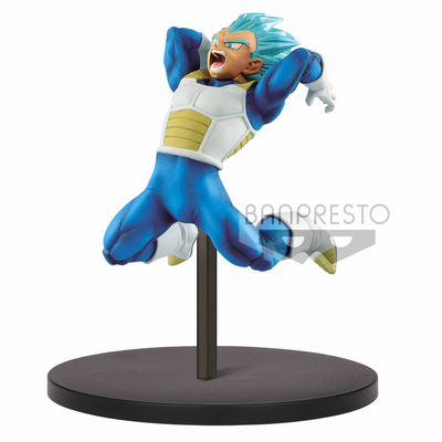Statuette Dragon Ball Super Chosenshiretsuden SSGSS Vegeta 12cm