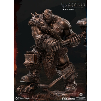 Statuette Warcraft The Beginning Orgrim Imitation Bronze Version 27cm