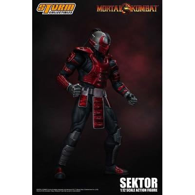 Figurine Mortal Kombat Sektor 18cm