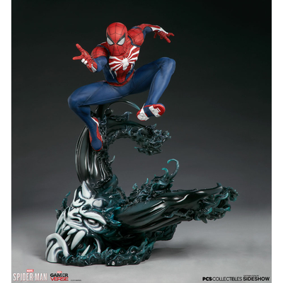 Statuette Marvel's Spider-Man - Spider-Man Advanced Suit 61cm