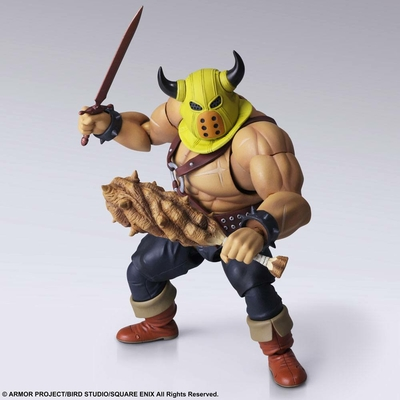 Figurine Dragon Quest Bring Arts Toughie Armourer Ver. 15cm