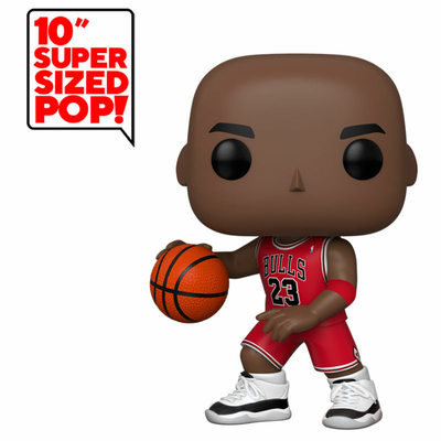 Figurine NBA Super Sized Funko POP! Michael Jordan Red Jersey 25cm