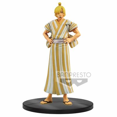 Statuette One Piece DXF Grandline Men Sanji Wano Kuni 17cm