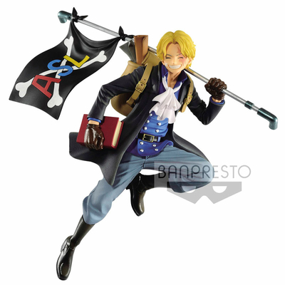 Statuette One Piece Three Brothers Sabo 10cm