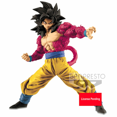 Statuette Dragon Ball GT Full Scratch Super Saiyan 4 Son Goku 18cm