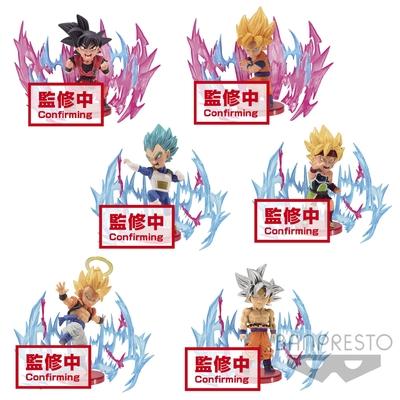 Set de 6 figurines Dragon Ball Super WCF ChiBi Plus Effect 7cm