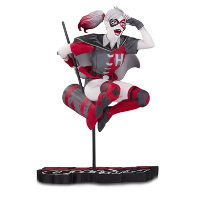 Statuette DC Comics Red, White & Black Harley Quinn by Guillem March 18cm