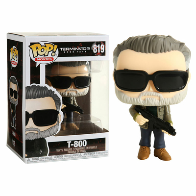 Figurine Terminator Dark Fate Funko POP! T-800 - 9cm