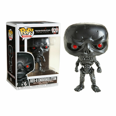 Figurine Terminator Dark Fate Funko POP! REV-9 - 9cm