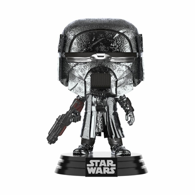 Figurine Star Wars Funko POP! KOR Blaster Chrome 9cm