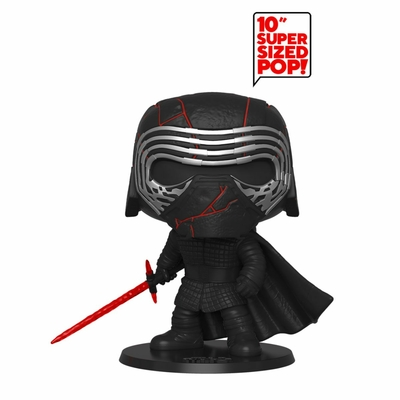 Figurine Star Wars Episode IX Super Sized Funko POP! Kylo Ren GITD 25cm