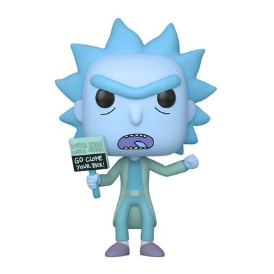 Figurine Rick et Morty Funko POP! Hologram Rick Clone 9cm