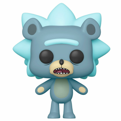 Figurine Rick et Morty Funko POP! Teddy Rick 9cm