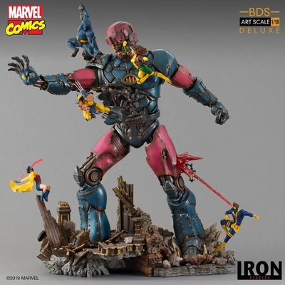 Statue Marvel Comics BDS Art Scale X-Men VS Sentinel Deluxe 90cm