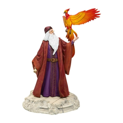 Statuette Harry Potter Dumbledore with Fawkes 30cm