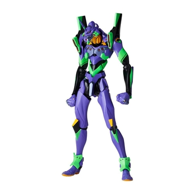 Figurine Evangelion Revoltech EV-001S EVA Unit 01 New Packaging Ver. 14cm