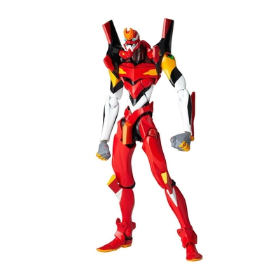 Figurine Evangelion Revoltech EV-005S EVA Unit 02 New Packaging Ver. 14cm