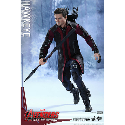 Figurine Avengers L'Ère d'Ultron Movie Masterpiece Hawkeye 30 cm
