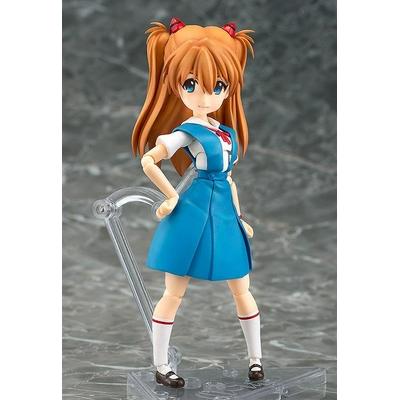 Figurine Rebuild of Evangelion Parfom R! Asuka Shikinami Langley School Uniform Ver. 14cm