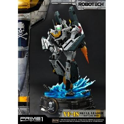 Statue Robotech VF-1S Skull Leader Battloid Mode 67cm