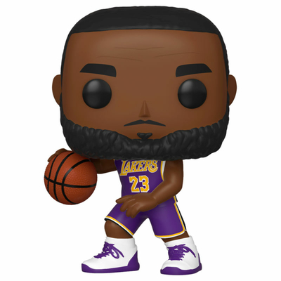 Figurine NBA Funko POP! Lebron James Lakers 9cm