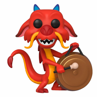 Figurine Mulan Funko POP! Mushu with Gong 9cm