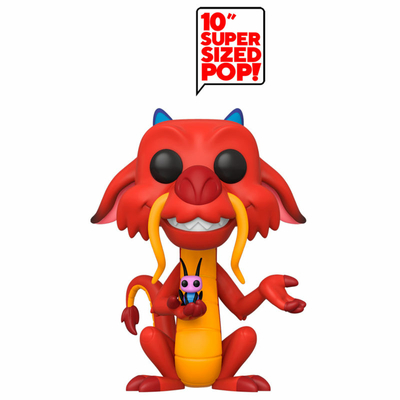 Figurine Mulan Super Sized Funko POP! Mushu 25cm
