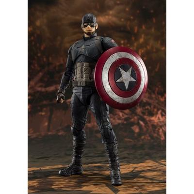 Figurine Avengers Endgame S.H. Figuarts Captain America Final Battle 15cm